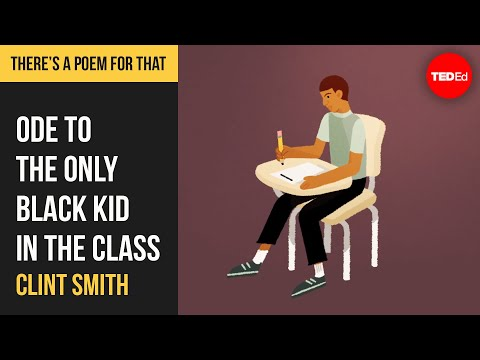 "Video image: ""Ode to the Only Black Kid in the Class"" by Clint Smith"
