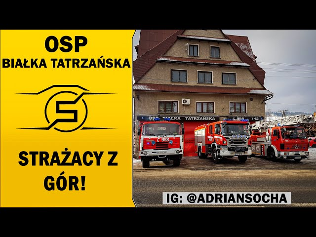 🔥STRAŻACY PRZEZ 7 DNI USUWALI SKUTKI WIATRU HALNEGO!🔥 - OSP Białka Tatrzańska