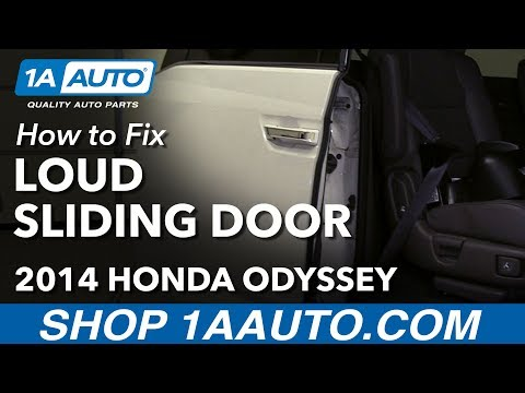 How To Fix Power Sliding Door That Rattles While Driving 11-17 Honda Odyssey