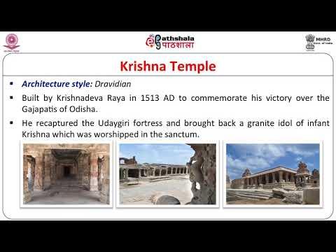 Vijayanagara School of Architecture Hampi