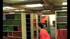 Dahlgren Library Obstacle Course