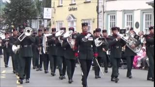 The Gurkha's Freedom Parade, Brecon 2015.