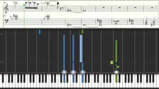 Rodion Atamaniuc - Piano Tutorial. How to play Final Countdown by Europe. Music sheets