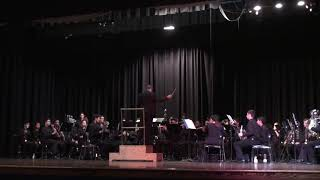 King High School Wind Ensemble plays Shenandoah by Frank Ticheli