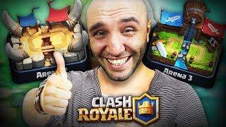 Clash Royale Yeni Başlayanlar 2. Ve 3. ARENA DESTESİ