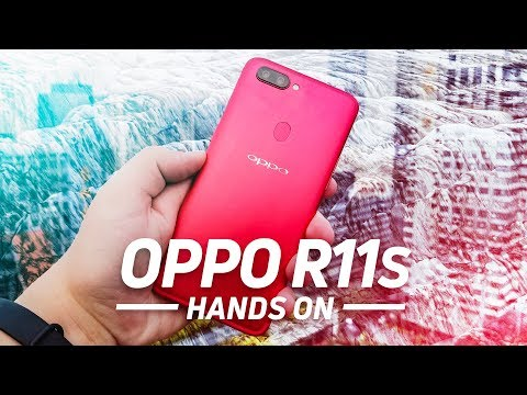 OPPO R11s Hands On