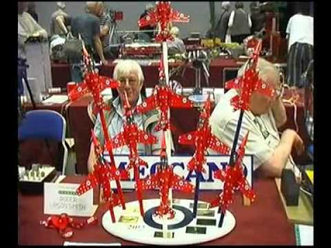 Meccano models 2017 at the  Embassy Theatre, Skegness