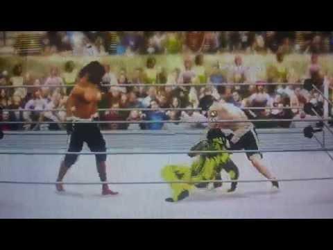 WWE 2k16 BigTaurusCam, BelieveInMe95 vs CurvyScarab22, THE K1D x Ranked Elimination Table Fighting.