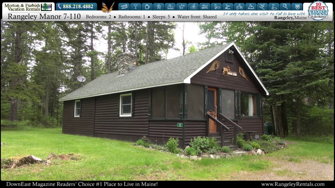Rangeley Lakes Maine vacation rentals