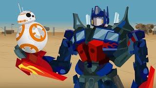 BB-8 vs Optimus Prime