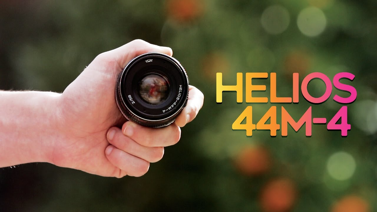 BEST VINTAGE LENS for $50! - HELIOS 44M-4 58mm f/2 Cinematic Lens!