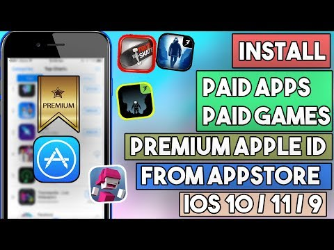 New How To Install Paid Apps / Games Free (PREMIUM ID)(NO JAILBREAK) iOS 10/10.3/9 iPhone/iPod/iPad