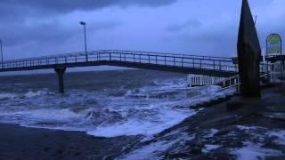 Sturmflut Orkan Xaver in Cuxhaven