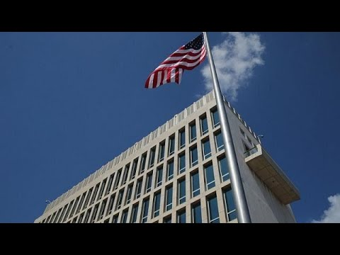 US expels two Cuban diplomats after its embassy staff in Havana are subject to possible…