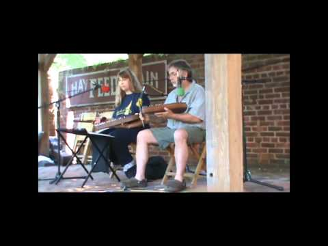 The Kirbys on stage at Dulcimer Days 2012