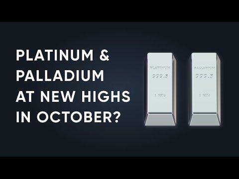 Platinum and Palladium Price Analysis October 2019   New Highs Coming?