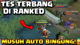 MUSUH BINGUNG!! IRITHEL TERBANG DI RANKED (MOBILE LEGENDS)