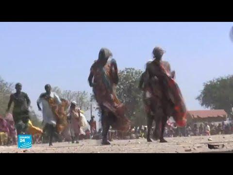 الركض سعيا للحصول على وجبة غذاء في جنوب السودان  - 16:55-2018 / 12 / 11