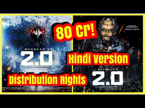 2.0 Distribution Rights Sold For 80 Cr In Hindi Version!