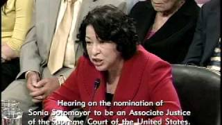 Judge Sotomayor Defends Her Record in Response to GOP Questions Free HD Video