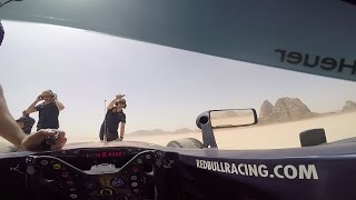 GoPro Thrown Out Of A Red Bull Racing F1 Car (POV Clip)