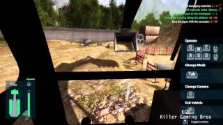 Bury The Pipes: KGB Plays Construction Machines Simulator 2016 60FPS