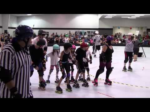 Rolling Rebellion - Kids Roller Derby - Debut Scrimmage 8/4/2012