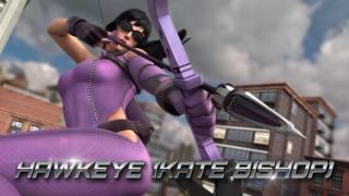 Ironheart, Medusa ve Hawkeye (Kate Bishop) tanıtım videosu