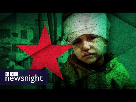 Syria crisis: The plight of children in Eastern Ghouta – BBC Newsnight