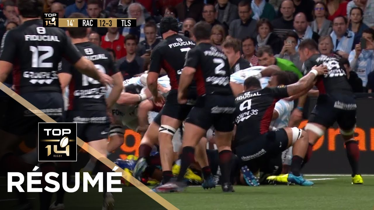 top 14 - r u00e9sum u00e9 racing 92-toulouse  23-19 - j13