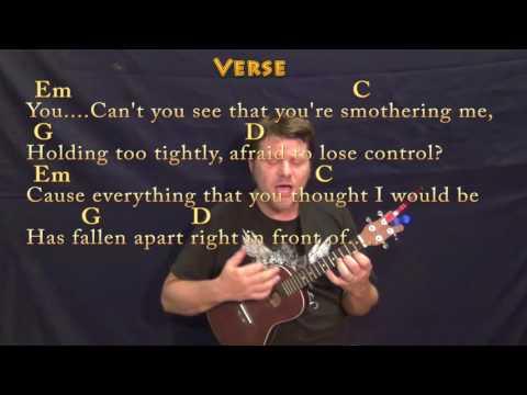 Numb (Linkin Park) Ukulele Cover Lesson in Em with Chords/Lyrics