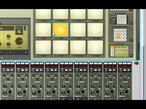 Reason 5 tutorial using samples in redrum youtube.