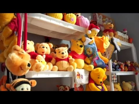 More than 20k items fill Florida web designer's Winnie-the-Pooh collection