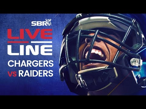 Chargers Vs Raiders | LIVE Thursday Night Football NFL Betting