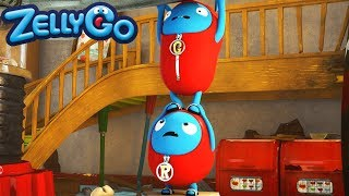 ZellyGo - A Dab Hand at Stacking | HD Full Episode | Funny Videos For Kids | Videos For Kids