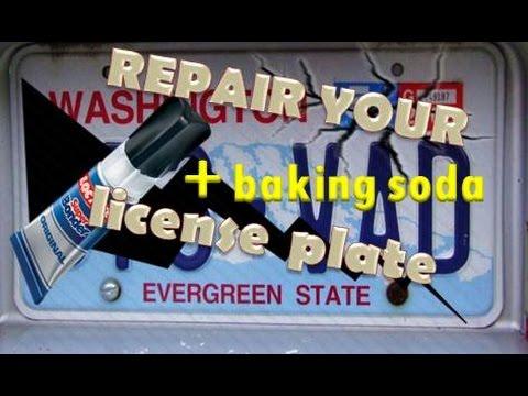 Cómo Reparar las Placas de Carros y Motos - YouTube