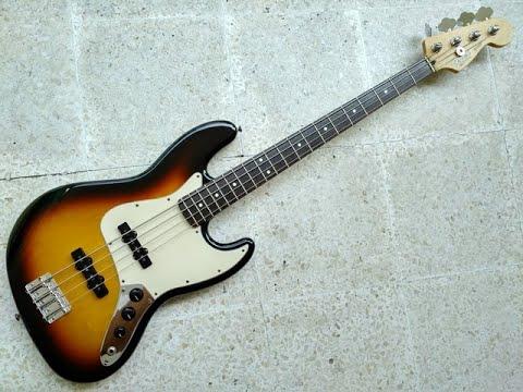 Fender Standard Jazz Bass Demo
