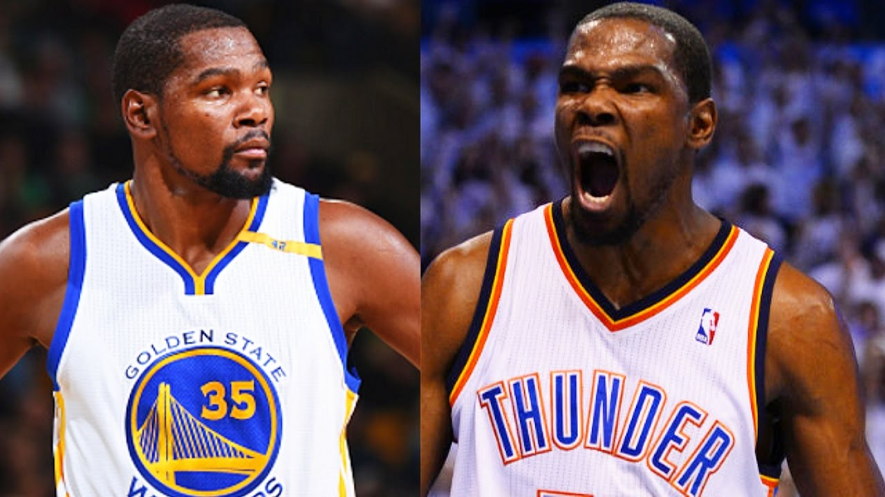 517527dd3a45 Kevin Durant LEAVING Warriors and RETURNING To OKC Thunder With Russell  Westbrook