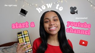 HOW TO START A SUCCESSFUL YOUTUBE CHANNEL IN 2019 (tips & tricks✨)