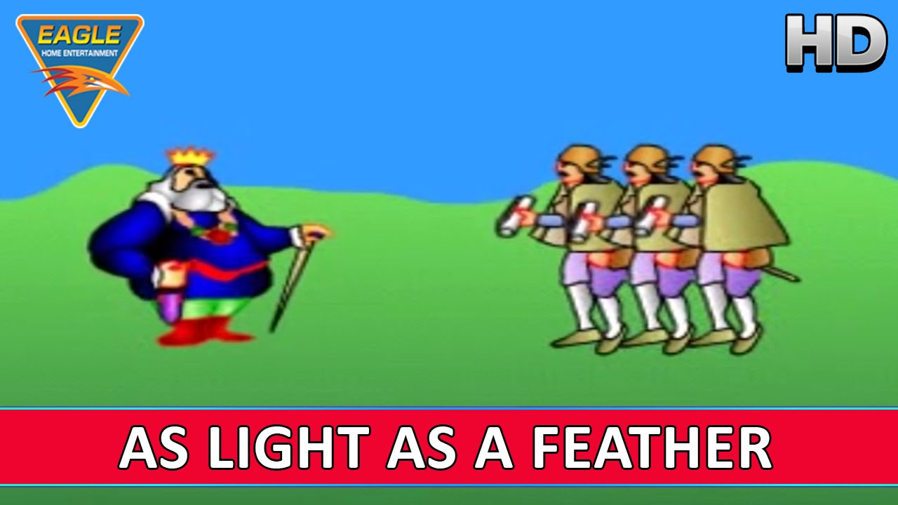 As Light As A Feather || Kids Animated English Rhyme || Nursery Rhymes