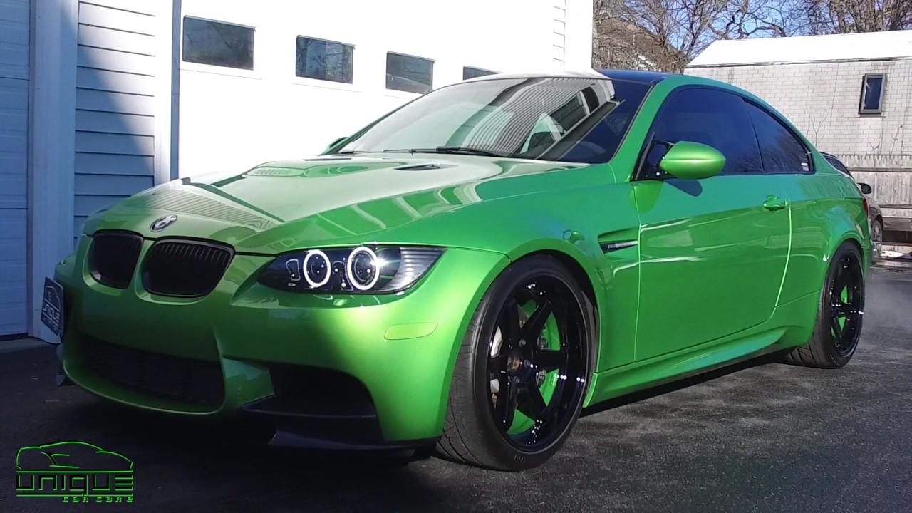 Java Green Bmw M3 Paint Correction Unique Car Care Boston