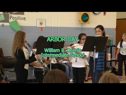 Arbor Day 2015 William B. Orenic Intermediate School Joliet, Illinois