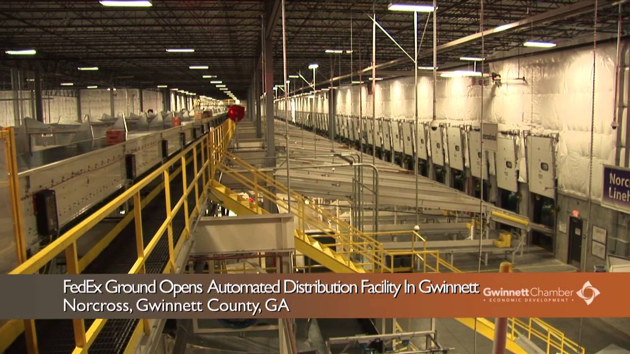 FedEx Ground Opens Automated Distribution Facility In Gwinnett