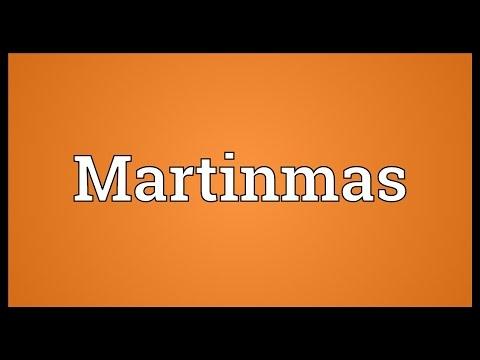 Header of Martinmas