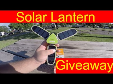 Suaoki Solar Camping Lantern Review & Giveaway