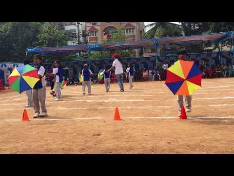 2nd Standard kids Sports day Drill Performance- Little Blossom school Bangalore