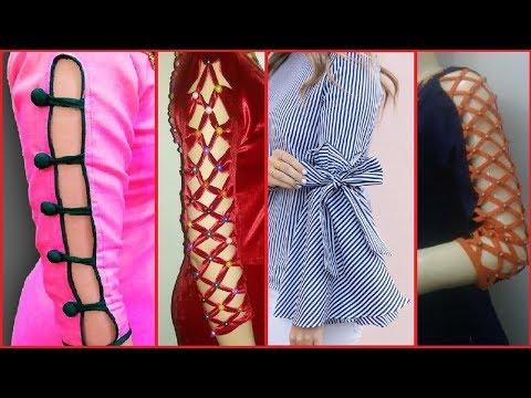 Latest Sleeves Designs for Kurti / Kurta / Kameez/ Blouse #Stitching ideas