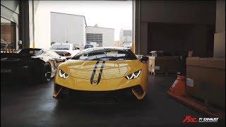 Lamborghini Huracan Performante  x Fi Exhaust x Heasman Steering ,Powerful, clear and powerful sound