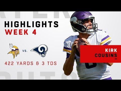 Kirk Cousins' Huge Game w/ 422 Yards & 3 TDs