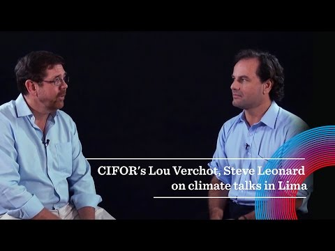 CIFOR's Lou Verchot and Steve Leonard on climate talks in Lima